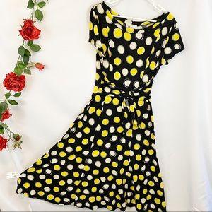 🌼D.J. Summers PolkaDot Bright Spring Summer Dress